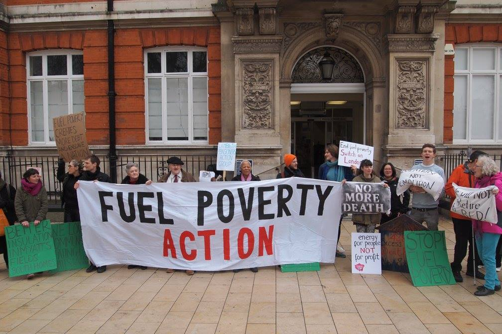 Fuel Poverty Action Banner