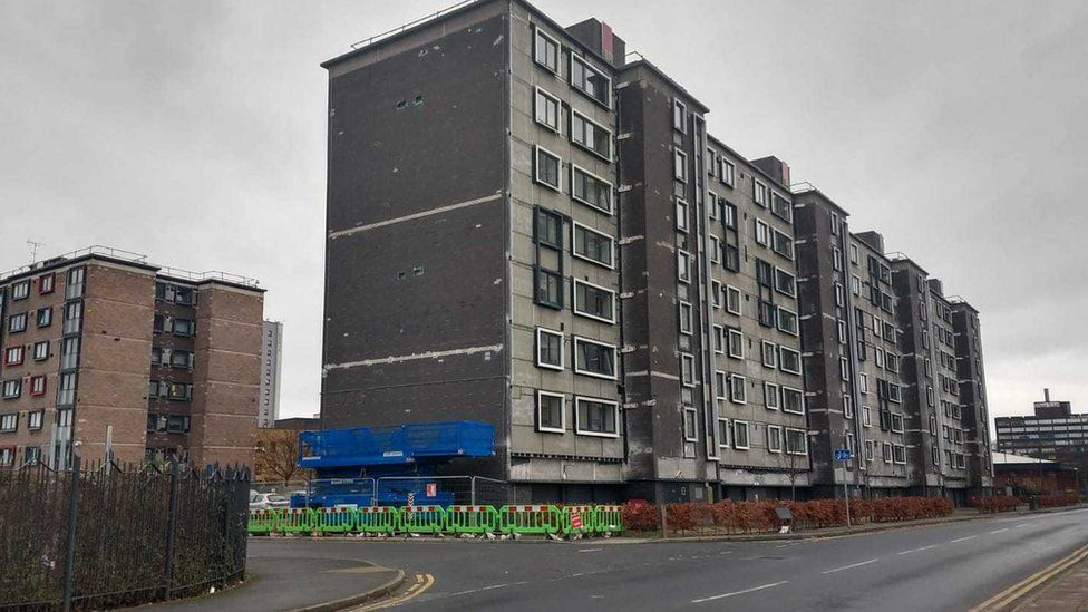 Cladding removal image