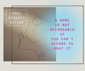 A home is not affordable if you can't afford to heat it
